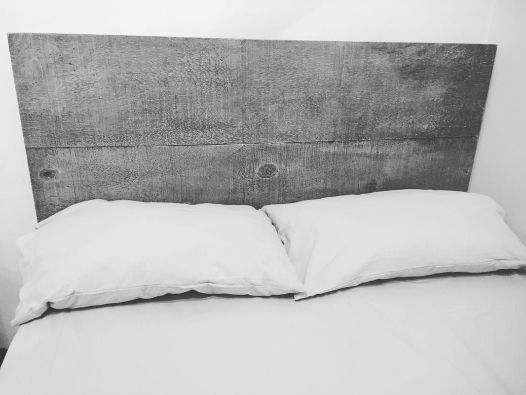 Make an impact on your bed, with a custom concrete headboard or concrete furniture
